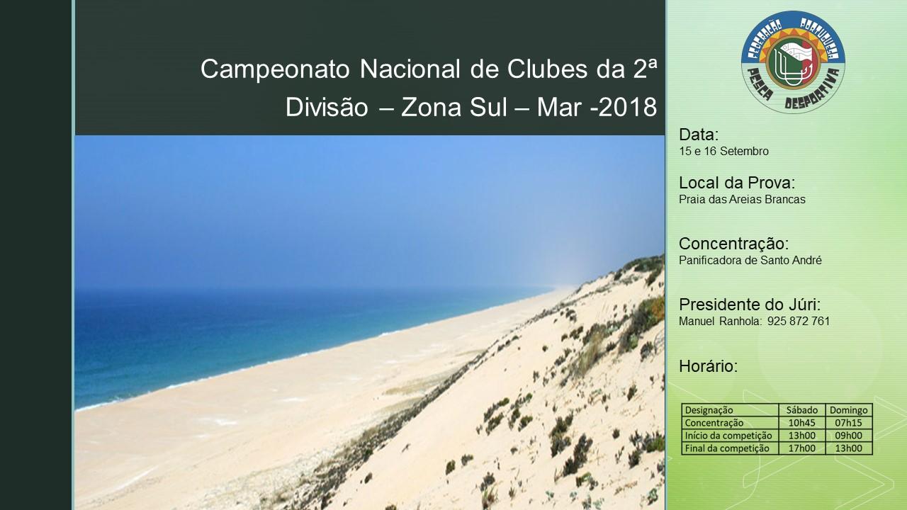 15_16 Clubes 2ª Sul_Mar
