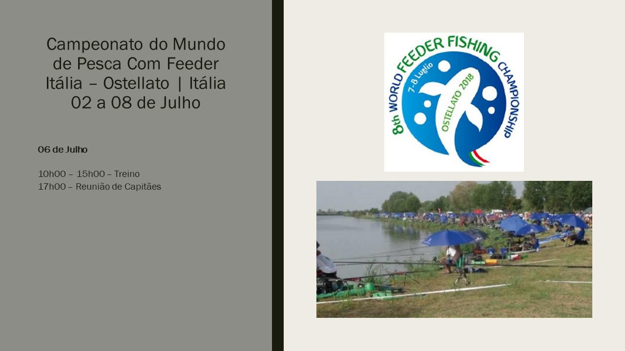 Mundial de Feeder 06 Julho