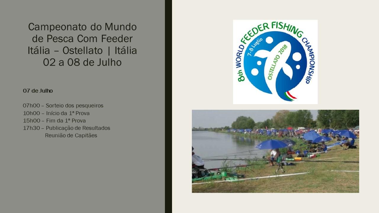 Mundial de Feeder 07 Julho